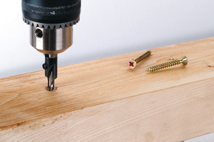 Screw Starter With Countersink