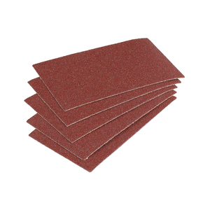 Easy-Fix Sanding Sheets for Wood/Metal, 125x70 mm