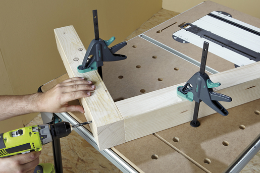 PRO 65-150-W Work Table Clamp