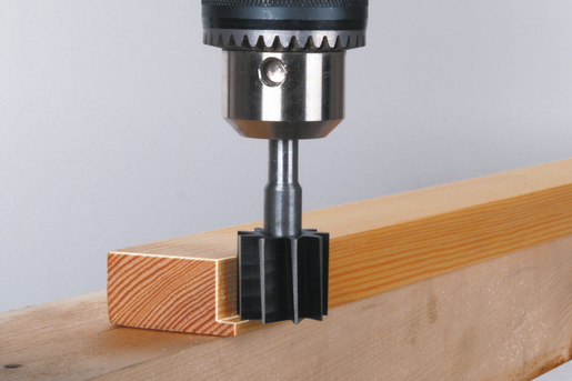 Cylindrical Cutter Made From Tool Steel