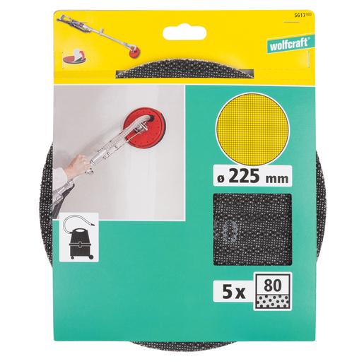 Schleifgitter 225 mm K 60//120//220  je 25 Stück Gitter Schleifscheiben