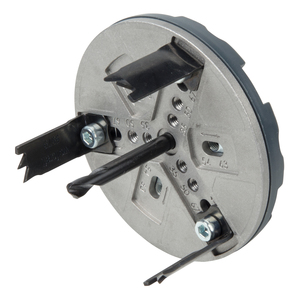 Adjustable Hole Saw, for Plumbing Installations