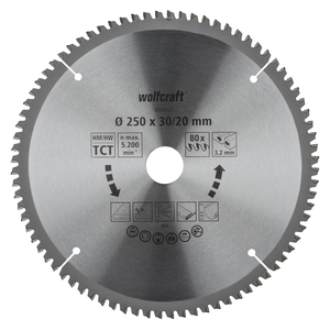 Cross and Mitre Cut Saw Blades, purple series (fine, clean cuts)
