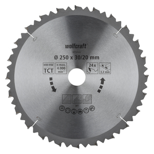 Cross and Mitre Cut Saw Blades, brown series (fast, rough cuts)