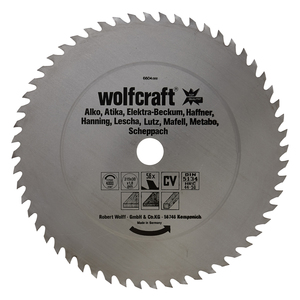 Circular Table Saw Blades, red series (fast, rough cuts)