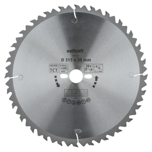 Circular Table Saw Blades, green series (fast, medium-coarse cuts)