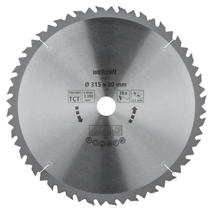 Circular Table Saw Blades, brown series (fast, rough cuts)