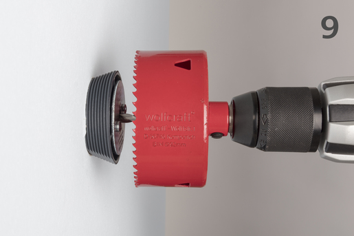 Hole Enlarging Tool for Hole Saws